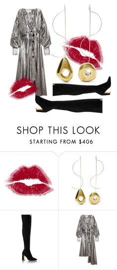 """""""#dress #label #lovemyjob #lovemybody #highboots #style #fashion #trendy"""" by andzelika-niklewicz on Polyvore featuring Leigh Miller and Wanda Nylon"""