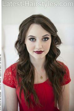 Like the makeup hair combo