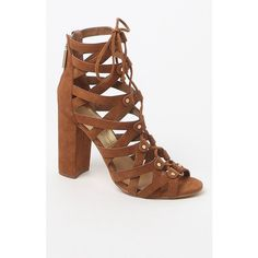 Dolce Vita Karli Lace-Up Suede Sandals ($160) ❤ liked on Polyvore featuring shoes, sandals, dolce vita, lace up shoes, suede shoes, high heel shoes and high heel sandals