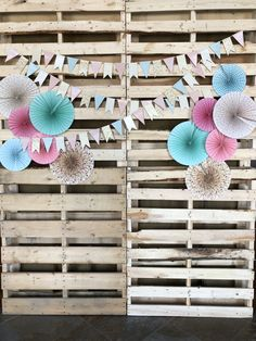 Easter/Mother's Day/ spring photo backdrop from pallets