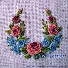 вышивка рококо схемы цветов: 23 тыс изображений найдено в Яндекс.Картинках