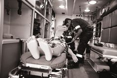Inside the paramedic lab Morningside Campus