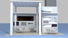 Light Master max fair stand exhibition display design