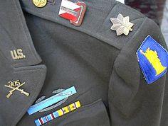 22ffb77f3b7 U.S. Militaria Forum   WW2 77th Infantry Division Officer Uniform
