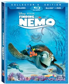 Finding_Nemo3DiscBluray. Participen!! Lindo sorteo y regalos para los pequenos de la casa!