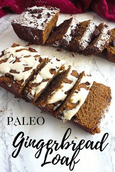 You're definitely going to want this recipe around during the Christmas season! This paleo Gingerbread Loaf is free of gluten, dairy, nuts and refined sugars. The perfect winter treat!