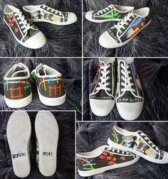 Depeche Mode Shoes by Tiofrean.deviantart.com on @DeviantArt