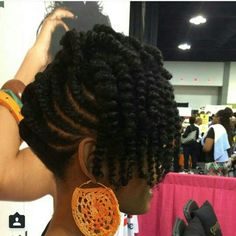 American and African Hair Braiding : Loving this natural # jumbo box Braids pints American and African Hair Braiding : Loving this natural updo Natural Hair Twists, Pelo Natural, Natural Hair Updo, Natural Hair Journey, Natural Hair Care, Natural Hair Styles, Natural Shampoo, Natural Hair Wedding, Natural Curls