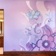 Madison's Room - Hand Painted Wall Murals - San Francisco, San Jose, Palo Alto - Murals by Morgan
