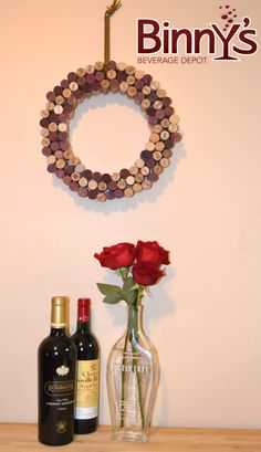 DIY: Wine Cork Wreath