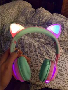 headphones for kids wireless bluetooth cat ear headphoens for kids Xmas gift Cat Headphones, Sports Headphones, Bluetooth Headphones, Xmas Gifts For Kids, Latest Technology Gadgets, Cute Lazy Outfits, Gaming Room Setup, Fashion Design Sketches, Tech Accessories