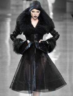 """130186: """" Coco Rocha for Christian Dior Haute Couture Fall 2008 """""""
