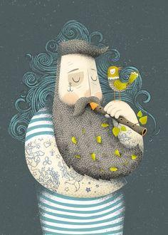 Стильные иллюстрации от Adrian Macho: beaumo3
