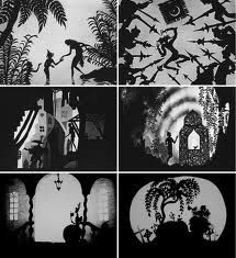 lotte reiniger paper cut/silhouette animation