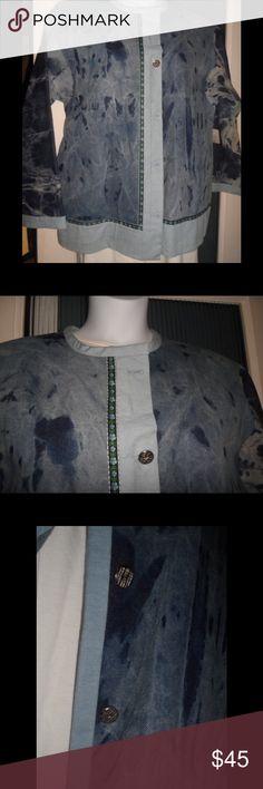 Maggi B's Women's Denim Jacket Handcrafted Denim Jacket Maggi B Jackets & Coats Jean Jackets