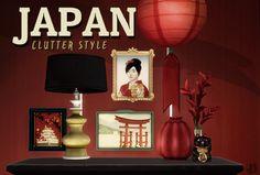 "litttlecakes:   Little Fish ""Sushi"" Restaurant +... / POPONOPUN SIMS 4 JAPANESE CC"