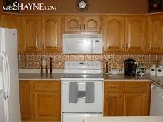 paint ideas for kitchen with oak cabinets - Google Search