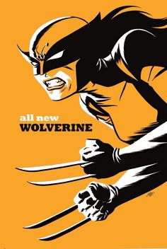 Michael Cho Variant Covers for Marvel - All New Wolverine