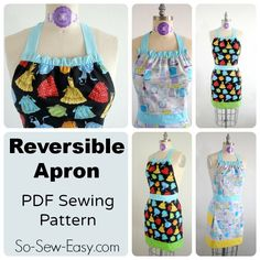 Reversible Apron Pattern - I've got you covered !