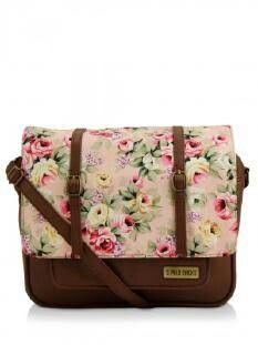 ca40dc63da 3 Mad Chicks Floral Print Sling Bag - Buy Women s Brown Sling Bags online  in India