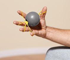 Míček na prstovou gymnastiku