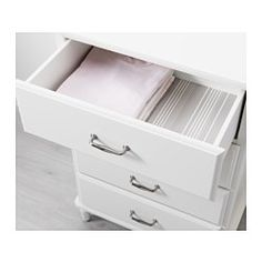 "TYSSEDAL 4-drawer chest, white - 26 3/8x40 1/8 "" - IKEA"