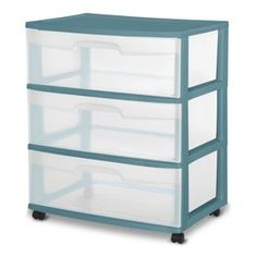 Blue Morpho PM 12 Pack 30 Gallon Heavy Duty Stackable Storage Tote