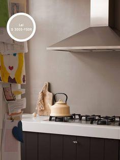 Kies voor kleur, ook in de keuken, heel goed mogelijk met Histor reinigbaar. Interior Design Advice, Wall Colors, Colorful Interiors, Color Inspiration, Home Kitchens, Beautiful Homes, Sweet Home, New Homes, Living Room