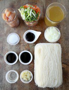 Bihon Pancit Recipe (Filipino) - Pickled Plum