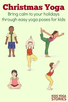 Christmas Yoga Poses for Kids | Kids Yoga Stories