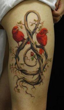 Bird & Bird Tattoo.