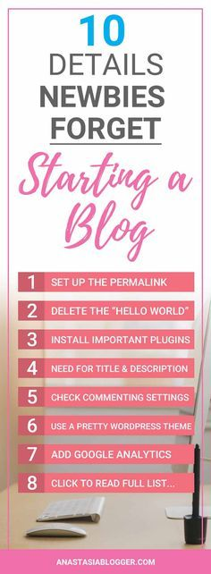 10 Common Mistakes When Starting a Blog Affiliate marketing - checklists boosting efficiency reducing mistakes