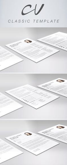 Free Fresh Resume Template cv and resume examples Pinterest