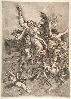 Tiepelo, The Assumption of the Virgin, 1727 -1804, Italian