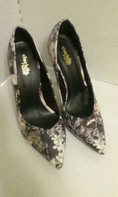 b9f14e177157 Charlotte Russe Floral High Heel Pumps 8M  CharlotteRusse  PumpsClassics  Floral High Heels