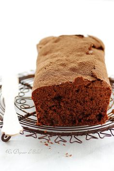 cake moelleux au chocOlat et raisins