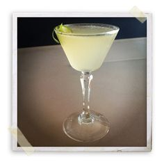 Green Chile Gimlet (St. George Green Chile Vodka), simple syrup and lime juice (or Rose's?)
