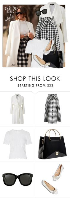"""""""Get the Look - Alexandra Pereira"""" by breathing-style ❤ liked on Polyvore featuring Chicwish, Topshop and Linda Farrow"""