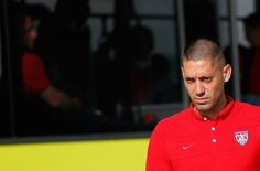 Clint Dempsey Photos Photos - Clint Dempsey of the United States arrives at Sao Paulo International Airport on June 9, 2014 in Sao Paulo, Brazil. - USA Team Arrives in Sao Paulo