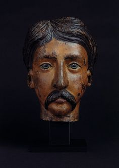 Folk Art Portrait Carving (Northern European)