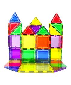 Look at this 48-Piece Magnetic Building Set on #zulily today!
