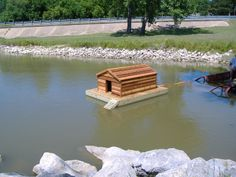 Floating Duck House | Floating Duck Houses For Sale http://customfloatingduckhouse.blogspot ...