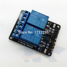 Free Shipping 5PCS/LOT 2 Channel NEW 5V 2-Channel Relay Module Shield For Arduino ARM PIC AVR DSP Electronic With Optocoupler #Affiliate