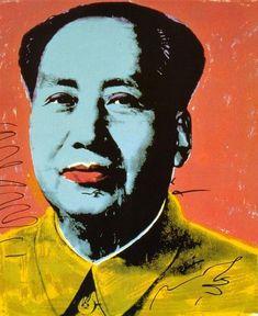 Mao 1972 Andy Warhol