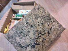 Zajíci v krabici...krabice plná zdravého jídla, kdy dopředu nevíte co dostanete. Březen se povedl :)