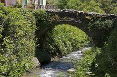 Corsica - Ponts Genois - Pont génois de Castello di Brando non loin d'Erbalunga.(Haute Corse - Cap Corse)