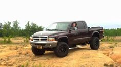 lifted dodge dakota truck | 2004 Dodge Dakota Lifted SLT For Sale | Wake Forest North Carolina