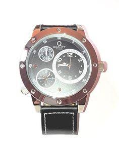 "Herren-Armbanduhr Quality Time ""Dual Time"" schwarz Dreamlife https://www.amazon.de/dp/B017DY10DQ/?m=A105NTY4TSU5OS"