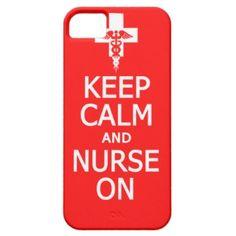 Keep Calm & Nurse On iPhone Case-Mate I love this!