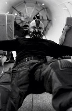 Oh!! I haven't seen this pic before but LOVE this part in TDKR!